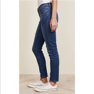 Frame Denim Le Garçon Cropped Ankle Jeans Bedford